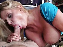 Huge tits Karen Fisher fucked hard