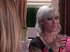 Samantha Saint and Kleio Valentien are charming babes that can make every man happy. Jonathan Morgan is the one who gets turned on by attractive long haired temptresses. They are super sexy!