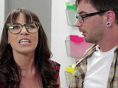 Dana Dearmond is a school girl in those really horny ages. Shes gonna blow his rock solid sausage till it explodes, and then shes gonna let him drill her in this school girl sex video