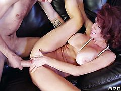 Veronica Avluv gets poked hard and deep by Danny Ds erect sausage