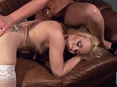 Andi Anderson and Melanie Jayne are lesbians eating pussy they cant get enough of each other. In this video the lick fuck and finger. They also inserts stuff in their asses