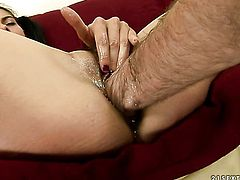 Brunette Betty Stylle does it with a dude she wants to fuck