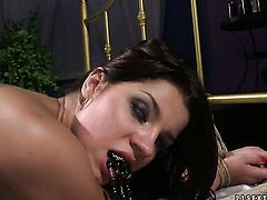 Blonde Angel Rivas gets the pleasure from pussy fucking like never before