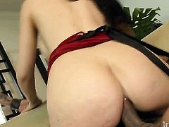 Keni Styles enjoys fabulously hot Diana Princes tight backdoor in anal action