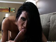 Shay Sights with big breasts is the one hard dicked dude Mick Blue loves to fuck