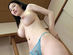 Sofia Takigawa gets her Japanese boobs banged after BJ