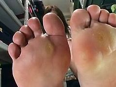 Riko Katase - Japanese Foot Fetish