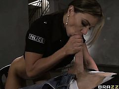 Senora Esperanza Gomez feels the best feeling ever with Danny Ds stiff ram rod in mouth