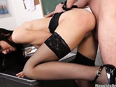 Diana Prince with juicy knockers and clean pussy doing wild things with hot bang buddy Dane Cross