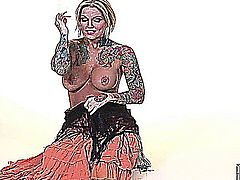 Janine Lindemulder - Gypsi Dancer