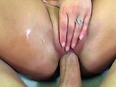 This girl knows how to please a man. See her give a blow job like only a professional can give. She sure loves to handle a cock with her hands and mouth.