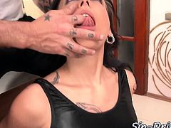 Anally pounded latex hos