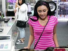 Pawnshop is never this hot and great when a lovely teen come