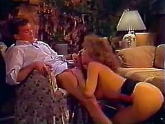 Randy Spears gets blown and fucks in classic scene