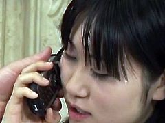 Aimi Shirase inside  three some