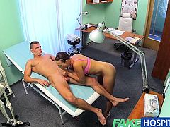 FakeHospital Ripped stud gets the naughty nurses
