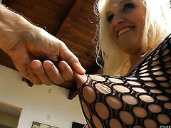 Dee Siren is good on her way to satisfy her hard dicked bang buddy John Stagliano