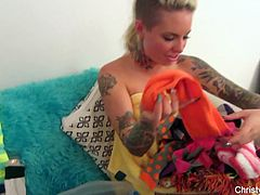 Behind the scenes with Christy Mack & Nick Manning
