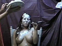 Edited Lynne Gets Pied From Smoking Females