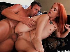 Dani Jensen learns more about hardcore sex from hard cocked bang buddy Jack Lawrence