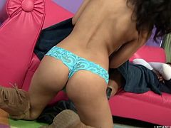 Teen floozy adores getting drilled by older experienced men