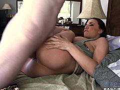 Chanel Preston is a seductive brunette, and you can say that by the way she seduced him to pound her cock craving, dripping twat. A little blow here, a little tug there and hes all set