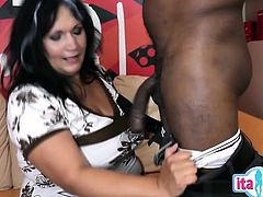 Hot housewife awesome anal