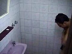 Str8 hidden cam spy in public shower