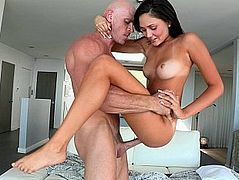 The johnny sins shows huge cock lauren linares