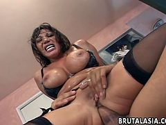 Ava Devine gets sweaty in hardcore anal fuck video