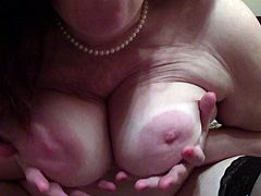 Hairy Fat Wife Shows Off Her Hairy Cunt