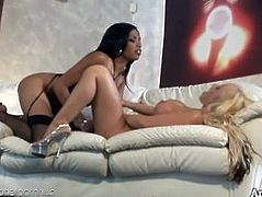 Davia Ardell and Havana Ginger warm up for an ass fucking