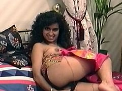 Young British Indian Teen With a Lovely Hairy Pussy!!!