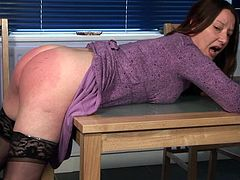Naughty MIilf needs a good Spanking