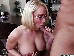 Mellanie Monroe with massive hooters and smooth pussy gets impaled on love wand by Bill Bailey