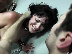 Andy San Dimas is never enough and takes guys erect meat pole in her mouth over and over again
