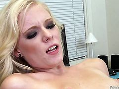 Peter North touches the hottest parts of prettied up Elaina Rayes body before he bangs her mouth