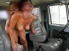 A brunette babe with a small waist and a really big ass is going to take it real fucking hard. This bitch is going to get banged real fucking well by that stiff sausage