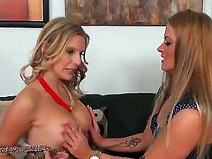 Brianna Ray and Holly Heart are two blonde pornstars that love spending some lesbian time together. These bitches just love it when theres a nice and tasty pussy to lick