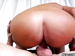 Huge ass Latina likes to be on top