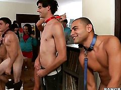 Group sex done at a college party