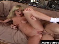Then she gets fucked up the ass equally well. It turns out her specialty is sucking dick after getting fucked in the asshole. She loves the ATM blowjob