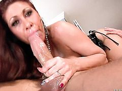Tiffany Minx believes that fresh cum gives her sexual energy