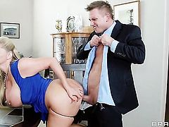 Karen Fisher  Sammy Brooks with round booty needs Bill Baileys meat stick in her mouth badly