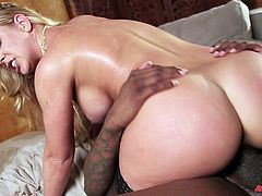 White pussies fucked by black cocks in a compilation
