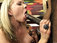 Sean Michaels uses his stiff love wand to make Extremely hot doll Ashley Winters happy after she takes it deep down her throat
