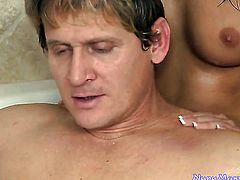 Nikki Daniels makes a dirty dream of never-ending cock sucking a reality