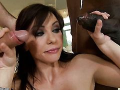 Brunette Alysa Gap gets her asshole trained