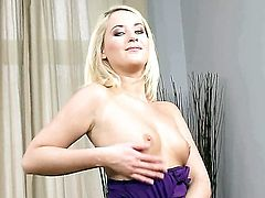 With tiny breasts and hairless cunt wants this solo sex session to last forever