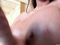 Chloe Reece Ryder is one oral slut that gives Jonni Darkkos meaty man meat a try